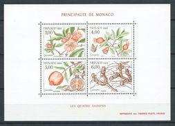 MONACO 1989 . Bloc Feuillet N° 44 . Neuf ** (MNH) - Blocs