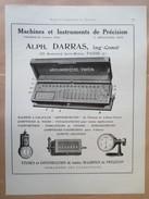 1922 - ARITHMOMETRE PAYEN - Page Originale ARCHITECTURE Indutrielle - Tools