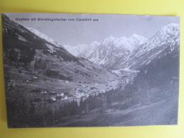 Klosters Mit Silvrettagletscher Vom Cavadurli Aus - Switzerland