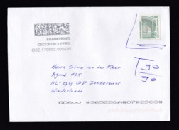 Germany: Cover To Netherlands, 2017, Invalid Old Stamp, Postage Due Markings, Taxed (traces Of Use) - [7] Repubblica Federale