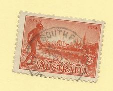 Tasmania - Circular Post Office Postmark - South Preston - Tas 902 - 1853-1912 Tasmania