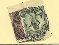 Tasmania - Circular Post Office Postmark - Moina - Tas 928 - 1853-1912 Tasmania