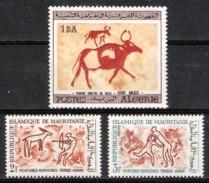 Peintures Rupestres ( Algérie ,Tassili - Mauritanie , Adrar) . - Archéologie