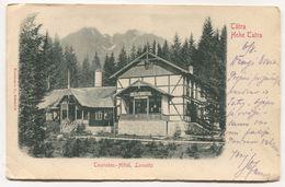 LOMNITZ / HOHE TATRA - SLOVAKIA, HOTEL, 1902. - Slovaquie