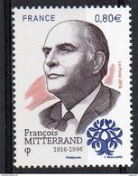 France  2016 : 5089**. François Mitterand - France
