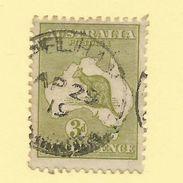 Tasmania - Circular Post Office Postmark - Pelham - Tas 997 - 1853-1912 Tasmania