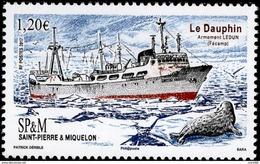 St. Pierre & Miquelon - 2017 - Le Dauphin Boat - Mint Stamp - St.Pierre & Miquelon