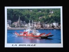 76 La Bouille Vue Générale Et Le Bac - La Bouille