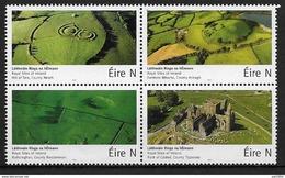 Irlande 2017 Timbres Neufs En Bloc De 4 Sites Historiques - Unused Stamps