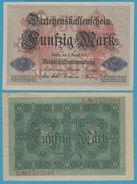 DEUTSCHES REICH 50 MARK 05.08.1914 ALPHA L.5202068 P# 49b  AU-UNC - [ 2] 1871-1918 : Empire Allemand