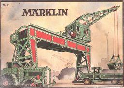 MÄRKLIN-N°71Z F-Jeu De Construction-Cahier Illustré De Modèles Et D'instructions-Trolleybus-Locomotive électrique..... - Other Collections