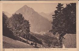 65---CAUTERETS--la Ville Le Péguère Et Val De Cambasque--voir 2 Scans - Cauterets