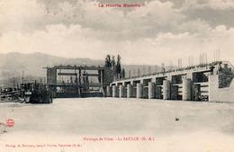 La Saulce ; La Houille Blanche , Ouvrage De Prise - France