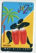 TK 24673 St. LUCIA - 147CSLE... Jazz - St. Lucia