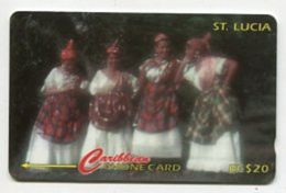 TK 24674 St. LUCIA - 121CSLA... National Dress - Saint Lucia