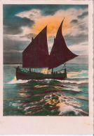 CPSM Bateaux - Un Voilier - Carte Sans Légende - Segelboote
