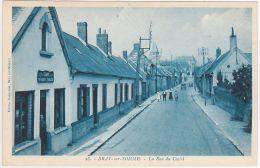 CPSM 80 - Bray Sur Somme - La Rue Du Castel - Bray Sur Somme