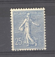 06491  -  France  :  Yv  132  * - 1903-60 Semeuse A Righe