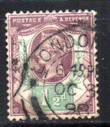 Col 4/ Grande Bretagne N° 93 Oblitéré Cote Yvert 5,00€ - Used Stamps