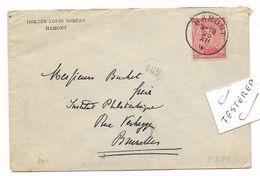 HAMONT 23 XII.18  Fortune/Noodstempel  Naar Brux. - 1915-1920 Albert I
