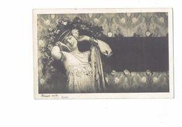 Cpa Fantaisie - Femme élégante épaules Nues Robe Bijoux Au Bras - Artiste Danseuse ? * E.P. - Frauen