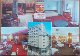 Postal Zaragoza Hotel Rey Alfonso. - Zaragoza