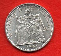 10 Francs Hercule  Argent 25 Gr - K. 10 Franchi