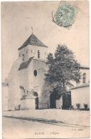 ---79 -----MAUZE Sur LE MIGNON   L'église TB - Mauze Sur Le Mignon