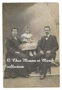FAMILLE BRUNEL A LYON EN 1880 - RHONE - PHOTO 14.5 X 9.5 CM - GENEALOGIE - Lieux