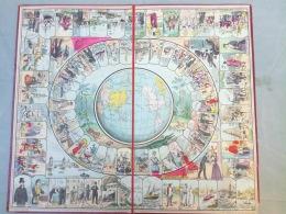 Le Tour De Monde En 80 Jours: Plateau Uniquement, édition MAUCLAIR-DACIER XIXe, Tb état Voir Photos Et Description. - Unclassified