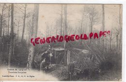 MILITARIA GUERRE 1914-1918-  TRANCHEES FRANCAISES - LUNEVILLE PHOTO - Guerre 1914-18