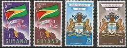 Guyana  - 1966 Independence Set Of 4  MNH **   Sc 20-3 - Guyana (1966-...)