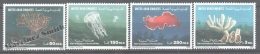 United Arab Emirates - Émirats Arabes Unis 1999 Yvert 603-06, Marine Fauna - MNH - Emiratos Árabes Unidos