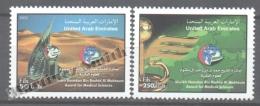 United Arab Emirates - Émirats Arabes Unis 2002 Yvert 675-76, Sheikh Hamdan Award For Medical Sciences - MNH - United Arab Emirates (General)