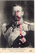 MILITARIA - GUERRE 1914-1918-  LE CONFLIT EUROPEEN EN 1914- GEORGE V ROI ANFGLETERRE - Guerre 1914-18