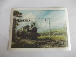 TIMBRE Libéria Chemin De Fer Train GWR 0-4-2T 1400 Class Locomotive - Liberia