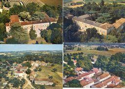 47 - Saumont - Lot De A Cartes Modernes - Vues Aériennes - Autres Communes