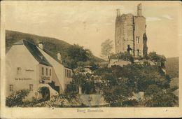 AK Burg Ramstein Bei Kordel, O 1913, Text Ausradiert, Spuren Vom Radieren, Schlechte Erhaltung (13799) - Germany
