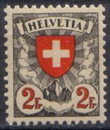 Zu 166z / Mi 197z / YT 211a Papier Gaufré ** / MNH SBK 140,- Voir Description - Switzerland