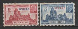 """KOUANG-TCHÉOU .N°138-139 """" MARECHAL PÉTAIN """" - Unused Stamps"""