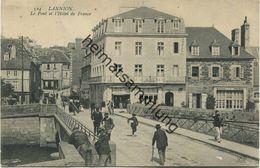 Lannion - Cotes-d Armor - Le Pont Et L Hotel De France - Lannion