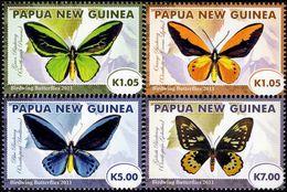 Papua New Guinea - 2011 - Birdwing Butterflies - Mint Stamp Set - Papoea-Nieuw-Guinea