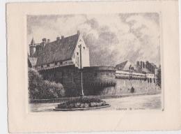Bg - Estampe NANTES, Le Château - Vieux Papiers