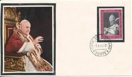 Vatican Special Cover 3-6-1963 POPE Cachet - Vatican