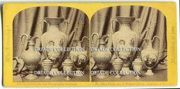 FOTO STEREOSCOPICA INTERNATIONAL EXHIBITION LONDON VASSE CHINA ANNO 1862 - Stereoscopi