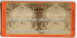 FOTO STEREOSCOPICA EXPOSITION PARIS ANNO 1889 GALERIE DES INDUSTRIES DIVERSES - Stereoscopi