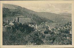 AK Mürlenbach, Mit Burgruine, Um 1918 (13843) - Duitsland