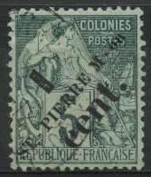 Saint Pierre Et Miquelon (1891) N 35 (o) - St.Pierre Et Miquelon