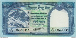 BRAND NEW NEPAL 50 RUPEE  BANKNOTE SNOW LEOPARD 2015/16 MINT UNCIRCULATED - Nepal