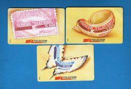 (1E) Italia - Europa Card Show-Roma 97-Veronafil, Serie. £ 2000 X 3 - C&C.2706-07-08. NUOVA.  Vedi Descrizione - Italie